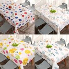 Mantel Ins impermeable a prueba de aceite tela lavable arte TV gabinete mesa de té PVC plástico a prueba de planchar alfombra de mesa de Estudiante