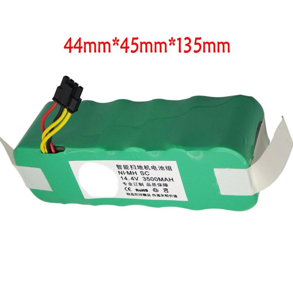 elegantstunning Batteria al Litio per aspirapolvere Robot CR130/CEN540/CR120/aspirapolvere Parti White Plug