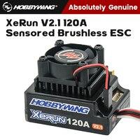 RC Model Car Parts XERUN 120A V2.1 1/10 Racing Flat Running Drift Cars sensore Brushless ESC regolatore di velocità elettronico