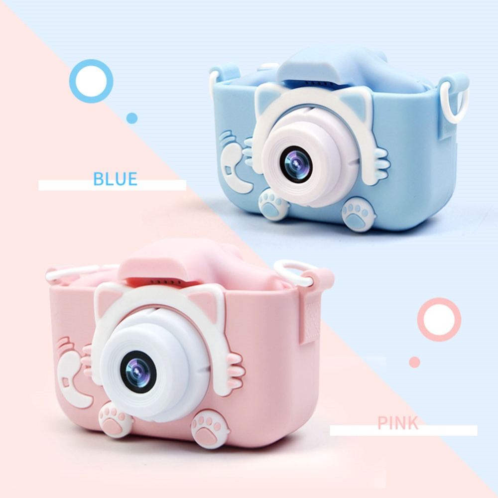 KaKBeir X5S 2.0'' 20MP Mini Kids Camera IPS Screen HD 1080P Children Digital Photo Camera Toy With 600mAh Lithium Battery Gift