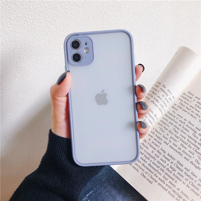 LECAYEE 2020 New iPhone Case Precise Super Anti Knock Phone Protective Cases for iPhone 11 Pro X XR XS Max 7 8 Pus 6s 6 SE (18)