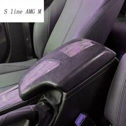 Car styling dla BMW 3 Serise F30 3gt F34 układanie Tidying podłokietnik ze schowkiem chroń naklejki dekoracyjne pokrywa wnętrze Auto akcesoria