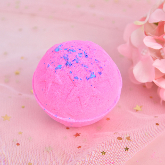 2PCS Fashion Handmade Bath Organic Bath Balls Skin Moisturize Bubble Bath Salt 3