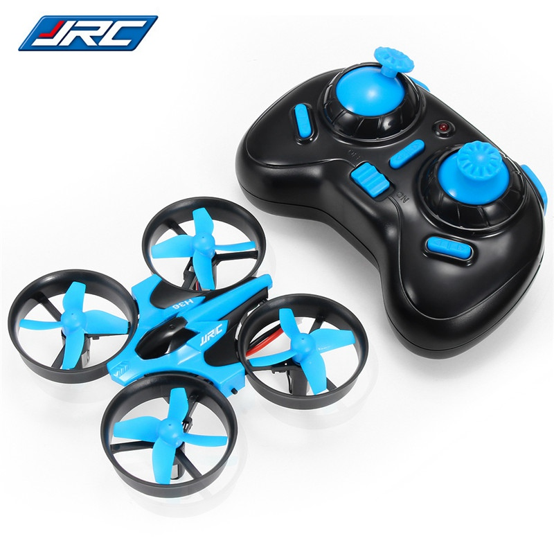 JJRC H36 Mini drone 2.4G 4CH 6-Axis 3D Flip Headless Mode rc helicopter Quadcopter toys for children VS E010 Multi Battery image