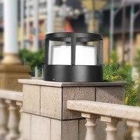 Luz de pared LED exterior impermeable IP65 porche jardín pared lámpara hogar Decoración interior lámpara de iluminación aluminio AC85 265V|Lámparas de pared para exteriores|   -