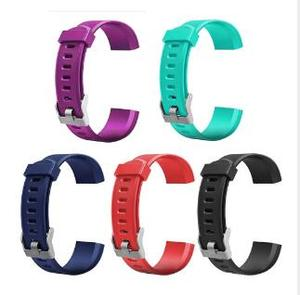 Hot Sale Smart Watch Strap Band For ID115 plus HR Soft sport Silicone Band Watch Strap Replacement For ID115 plus Smart Bracelet
