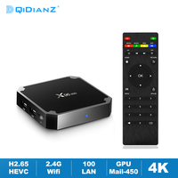 X96MINI Android 9.0 Smart TV Box Amlogic S905W Quad Core 2.4G Wifi 4K HD Media Player X96 MINI Set Top Box ricevitore TV Google