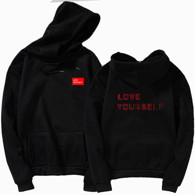BTS LOVE YOURSELF HOODIE (4 VARIAN)