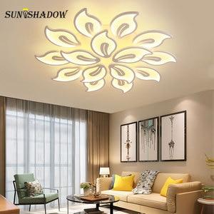 Image 3 - 110v 220v Modern Led Ceiling Light luminaires Chandelier Ceiling Lamp for Foyer Living room Bedroom Dining room Kitchen Lighting