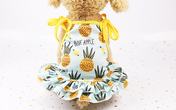 Spring Summer Cat Clothes Pet Cat Coats Jacket Hoodies For Cats Outfit Cute printing Cotton Pet Clothing Pet Costume for Dogs