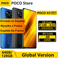 Глобальная версия POCO X3 NFC 64GB / 128GB Смартфон Snapdragon 732 Octa Core 6,67