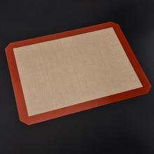 Напрямую от производителя, высокотемпературного стойкого силикагеля, стекловолокна, бумажная Накладка для выпечки, силиконовый коврик для выпечки, бумага для выпечки