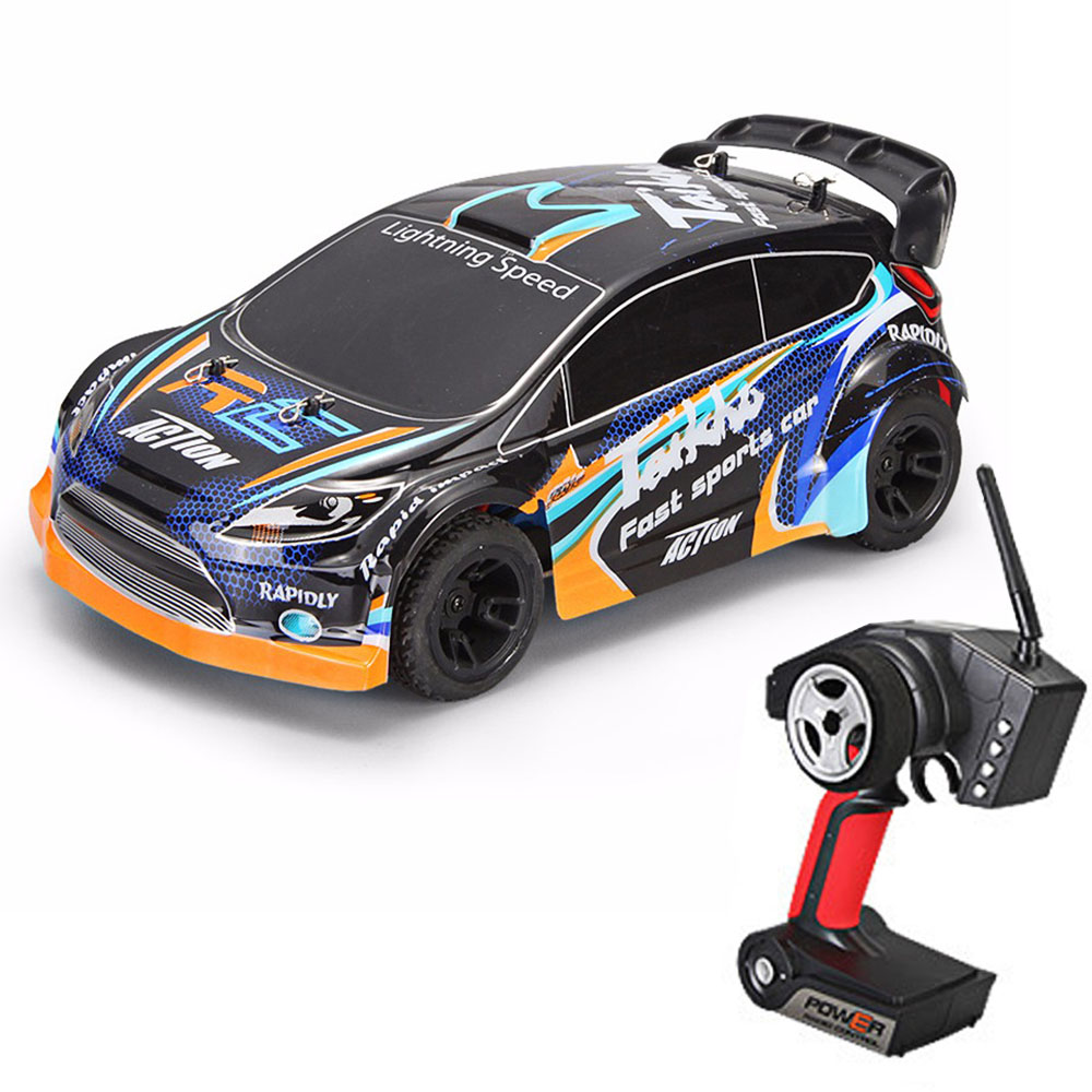 2019 New Rc Cars A242 1:24 Four-wheel Drive For Rc Car 2.4G Remote Control Racing Desert Off-road Drift Car Rally Car Speed 35km