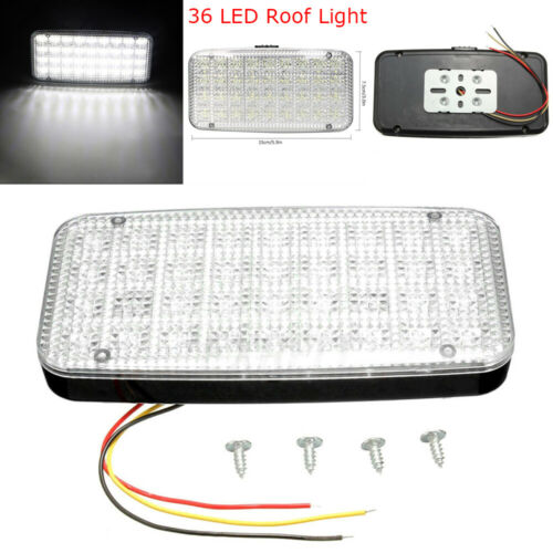 Accessories New Super Bright Lamp Truck 36V LED Roof Dome DC 12V Car Auto Interior Ceiling Light Trunk Light Decorative Light