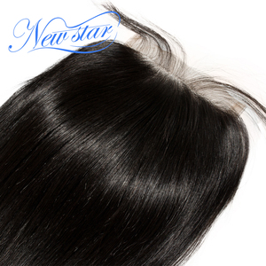 Image 5 - NEW STARบราซิลตรงผม 4 Bundles Virgin Hair Hair Extension 4X4 ปิดลูกไม้ที่ยังไม่ได้ประมวลผล 100% ทอผ้าดิบ