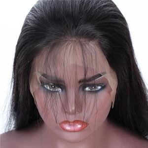 Image 5 - Mifil 4X4 Đóng Cửa Brasil Tóc 130% Mật Độ 100% Remy Tóc Người Đóng Cửa Tự Do Giữa Ba Phần Tóc Thẳng đóng Cửa