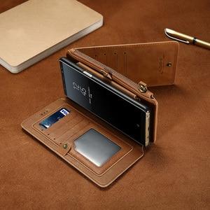Image 3 - Bao Da Điện Thoại Cho Samsung Galaxy S20 Cực S10 E S9 S8 Plus S7 S6 Edge Ví Thẻ Dành Cho samsung Note 20 10 9 8 5 Coque