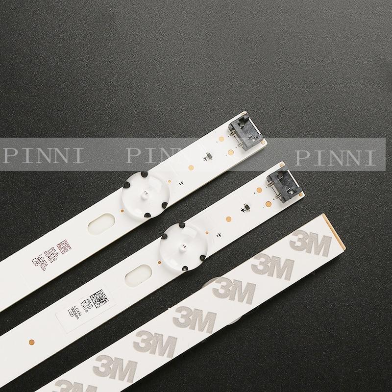 New 3 PCS 7LED 83cm LED strip for LG 43UK6300PLB 43UJ634V 43LJ61 FHD L LC43490059A LC43490058A Innotek 17Y 43inch A LC43490074A