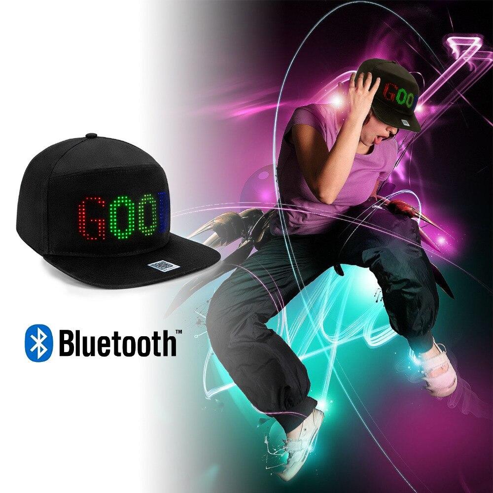 led hat display