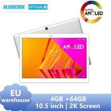 Alldocube x neo amoled tela tablet 10.5 polegada android 9.0 4gb 64gb 2.5k 2560 × 1600 ips duplo sim lte 4g tablet pc bluetooth 5.0