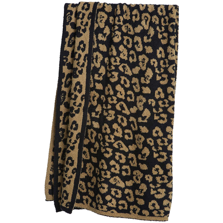 Leopard Print Fleece Blankets, High-grade Fleece Blankets and Sofa Blankets, Super Soft and Comfortable Lightweight Blanket-4