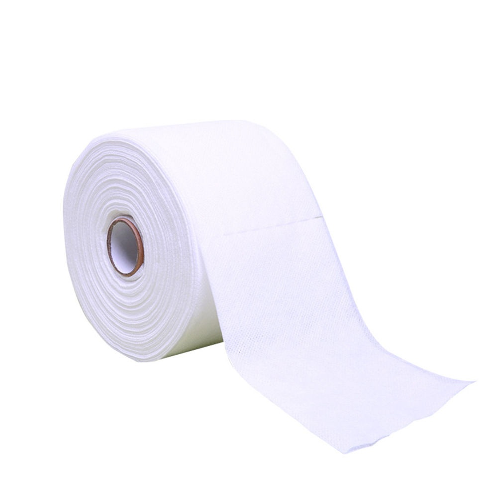 Disposable Face Towel Non-Woven Facial Tissue Makeup Wipes Cotton Pads Facial Cleansing Roll Paper Tissue