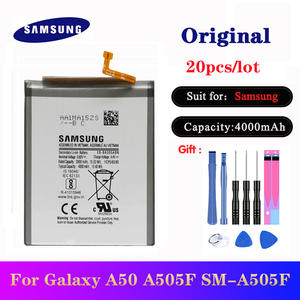Samsung Battery Phone-Replacement-Batteries 4000mah Galaxy Original EB-BA505ABN for Galaxy/A50/A505f/Sm-a505f