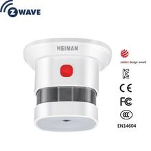 Z-Wave дым Сенсор Умный дом ЕС Версия 868.42 мГц Z волна детектор дыма Мощность Батарея работает