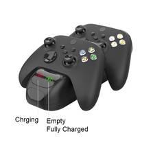 Xbox serisi X / S kablosuz kontrol kolu Gamepad çift şarj Xbox S X kablosuz kolu şarj standı kolu şarj