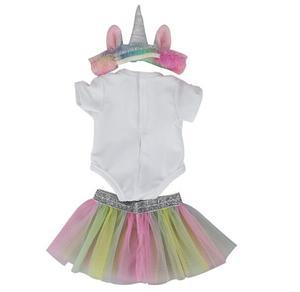 Image 5 - Di modo di nuovo vestito Per 17 Pollici Del Bambino Reborn Bambola 43 centimetri Vestiti