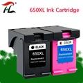 Сменный чернильный картридж YLC 650XL для принтеров HP 650 XL 650 Deskjet 1015 1515 2515 2545 2645 3515 4515 4645