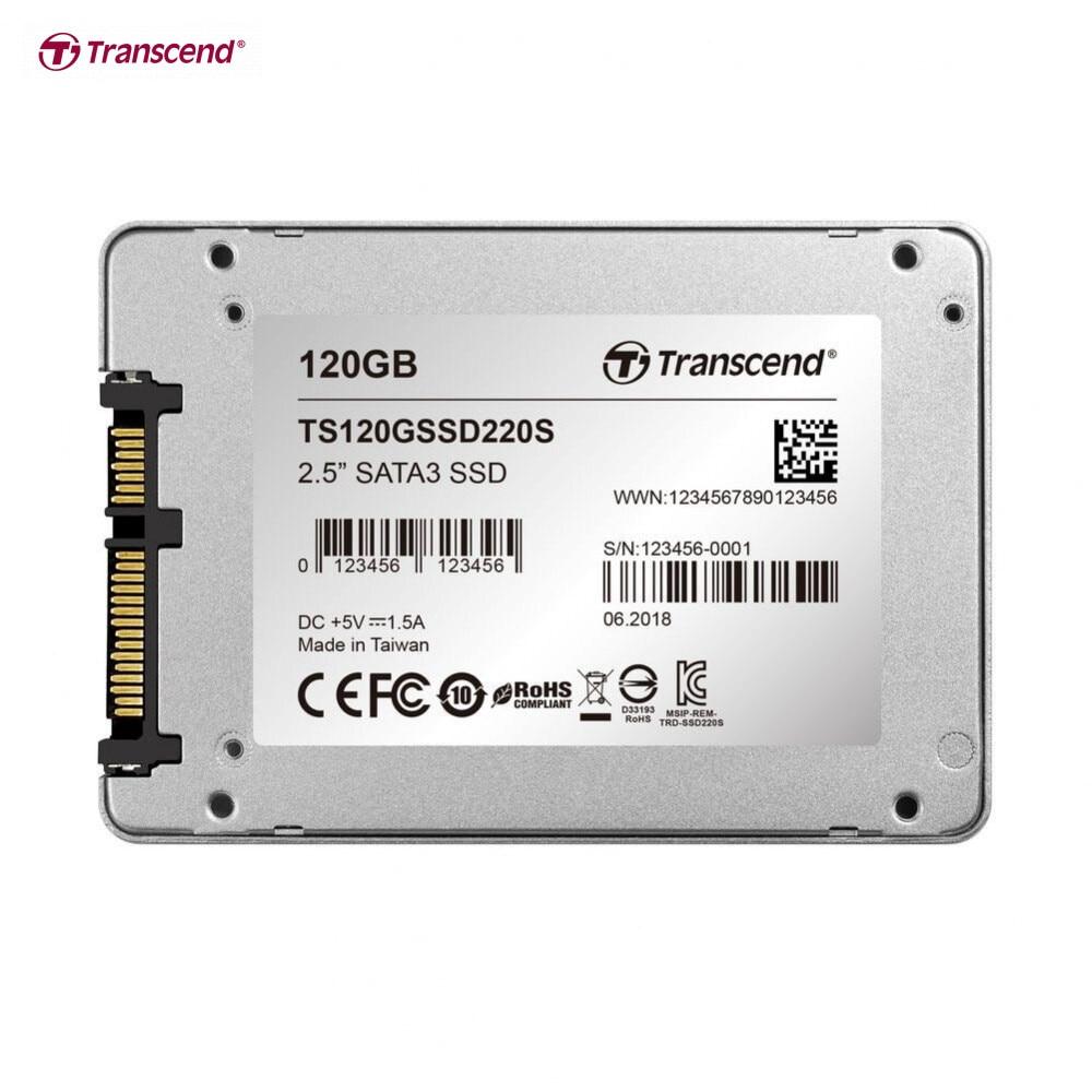 Твердотельный накопитель Transcend SSD220, 2.5