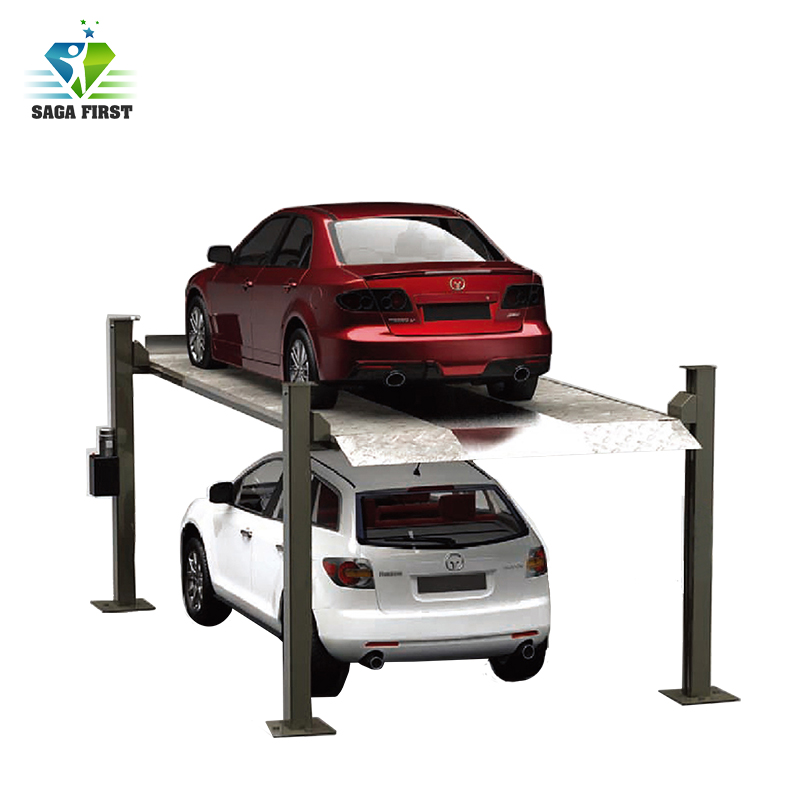 High Quality 4 Four Post Car Parking Lift  Automotive Lift