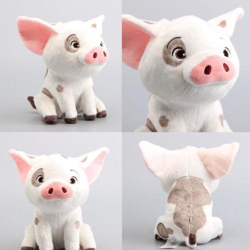 Pudcoco 22cm Movie Moana Pet Pig Pua Stuffed Animals Cute Cartoon Plush Toy Dolls Soft
