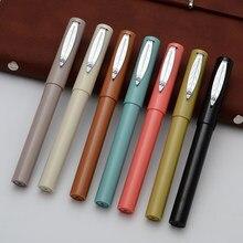 Jinhao 519 Ручка перьевая модная популярная пластиковая цветная Классическая Подарочная чернильная ручка красивый подарок для студентов ручка...