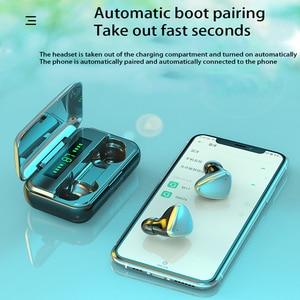 Image 3 - TWS Bluetooth 5.0 אוזניות 9D HIFI 2000mAh טעינת תיבת אלחוטי אוזניות LED תצוגת אוזניות אוזניות ספורט עמיד למים