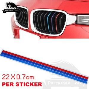 Декоративная полоса винила для BMW, 3 цвета, наклейки на автомобиль для BMW 1 2 3 4 5 7 F10 F20 F30 E36 E90 E46 X1 X3 X5 X6 G30, аксессуары