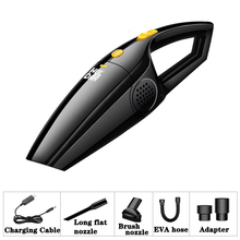 Car Vacuum Cleaner Portable Handheld Vacuum Cleaners 12V 120W 3700Pa Wet and Dry Dual Use Car Mini Vacuum Aspirateur Voiture 120w high power car cleaner 24v portable with wet and dry handheld vacuum cleaner aspirateur supplies for truck accessories