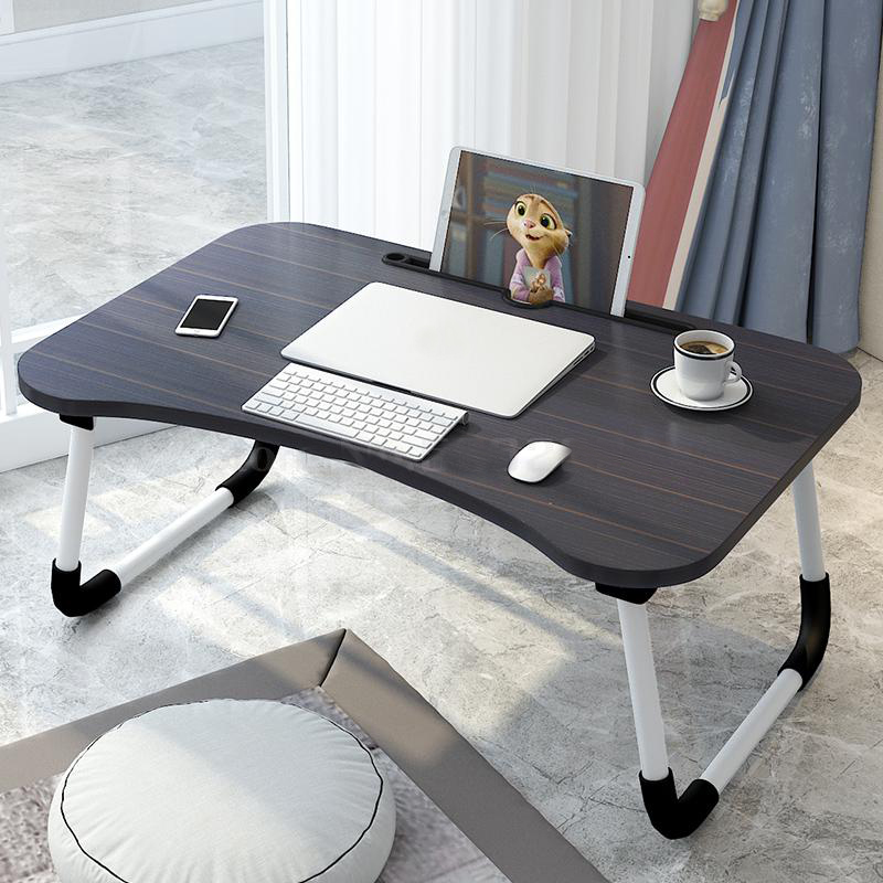 Multifunction Height Adjustable Lapdesk Bed Computer Desk Folding Tilt Adjust Lazy People Laptop Table Student Notebook Stand