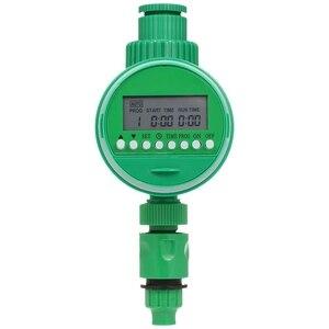 Автоматический таймер для орошения, одиночный выходной шланг кран таймер цифровой ЖК-электронный домашний таймер воды Открытый водонепрон...