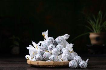 Yunnan Pu #8217 er herbata surowa herbata smok piłka herbata klasy pieczęć ręcznie Dragon Ball wiosna herbata herbata w luzem skompresowany Mini Puer herbata 500G tanie i dobre opinie CN (pochodzenie)