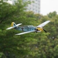 MinimumRC BF109 360mm envergadura 4CH entrenador fijo-ala del KIT de avión de control remoto con Motor al aire libre juguetes para niños eléctrico de aviones RC
