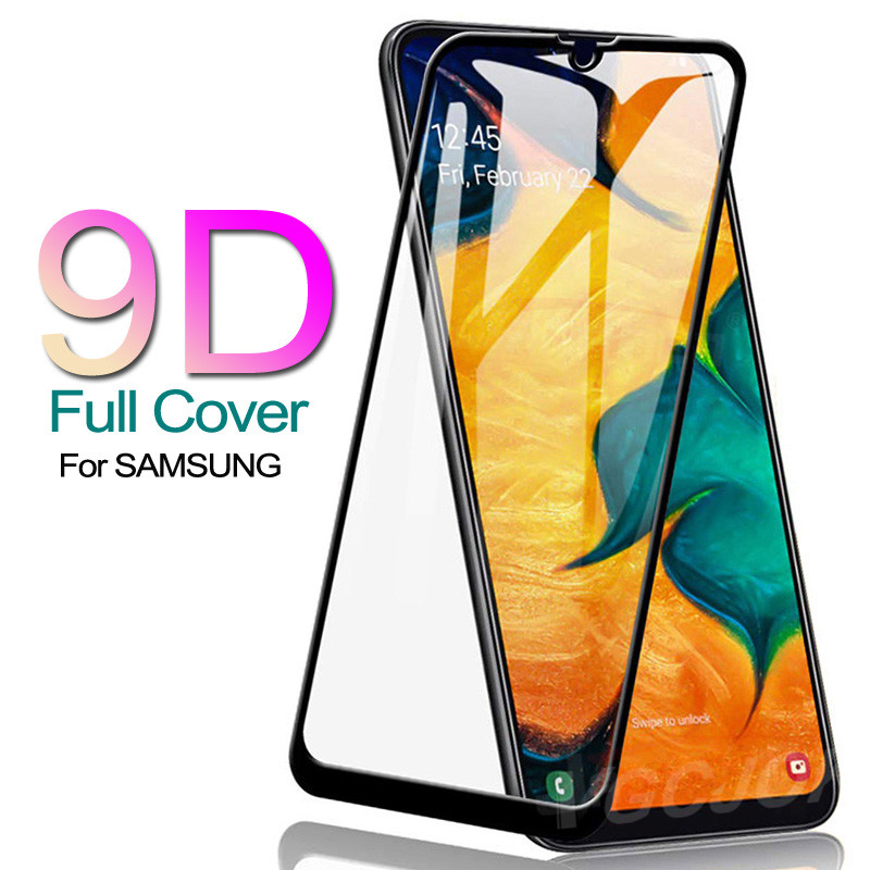 9D Protection Glass On For Samsung Galaxy A10 A20 A30 A40 A50 A60 Screen Protector For Samsung A70 A80 A90 Glass M10 M20 M30 M40