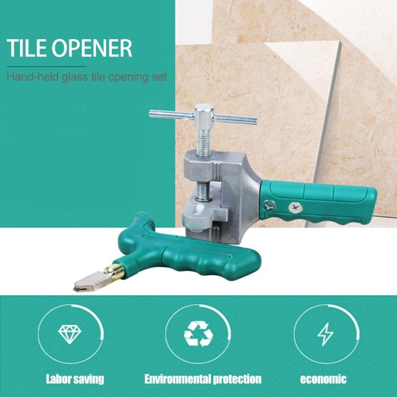 Tile Glass Cutter Carbide Tip Scriber Ceramics Glass Quick Opening Cutting Tool Multifunction Construction Tools Supplies