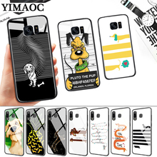 Cute cartoon dog special Glass Case for Samsung S7 Edge S8 S9 S10 Plus S10E Note 8 9 10 A10 A30 A40 A50 A60 A70 стоимость