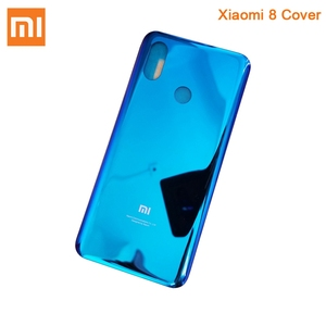Image 5 - Original XiaoMi Glass Battery Rear Case for Xiaomi 8 MI 8 Mi8 Pro MI8 Pro M8SE Phone Battery Backshell Back Cover Battery Cover