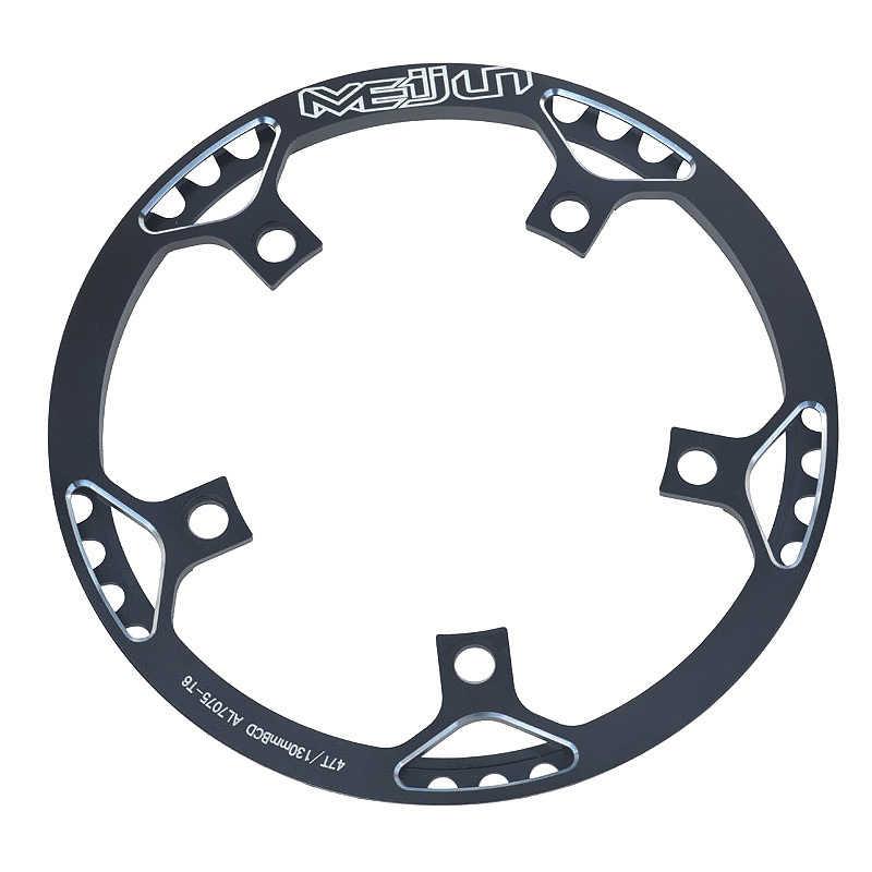 Велосипедная передняя звезда MTB Звездочка BCD 130 мм 45/47T узкая широкая цепь из колец цепь диаметра окружности болтов для горного велосипеда