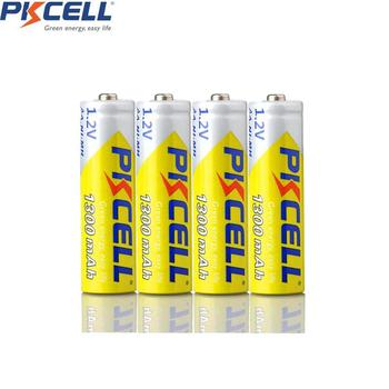 2/4PC X PKCELL 1.2V  NIMH AA Rechargeable Battery NI-MH AA Battery 1300mAh 1.2 Volt 2A Batteries Batteria Batterias 12pieces pkcell aa battery ni mh rechargeable batteries 2a bateria baterias ni mh 2000mah 1 2v aa rechargeable battery