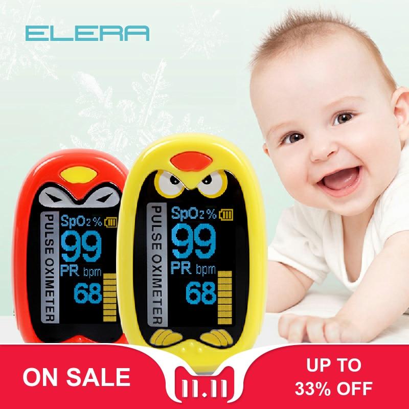 Pediatric Finger Pulse Oximeter Neonatal SPO2 PR Oximetro Saturation Rechargeable USB Infant Pulsoximeter For Children Kids