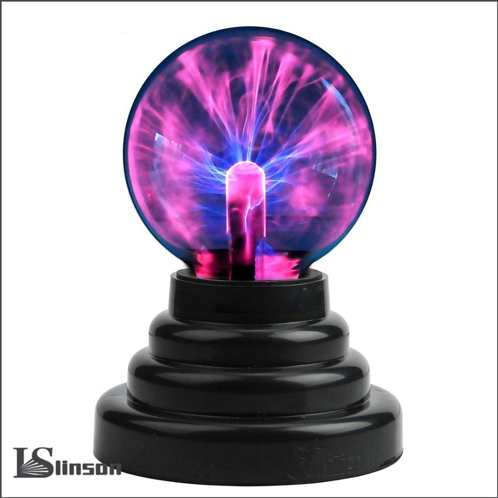 Plasma Ball Magic moon lamp USB Electrostatic Sphere Light bulb touch Novelty project novedades home decoration accessories|Novelty Lighting| |  - title=